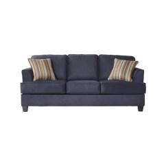 72 Lancaster Leather Sofa Navy Velvet Living Room Inch Wide Sleeper Wayfair Ca