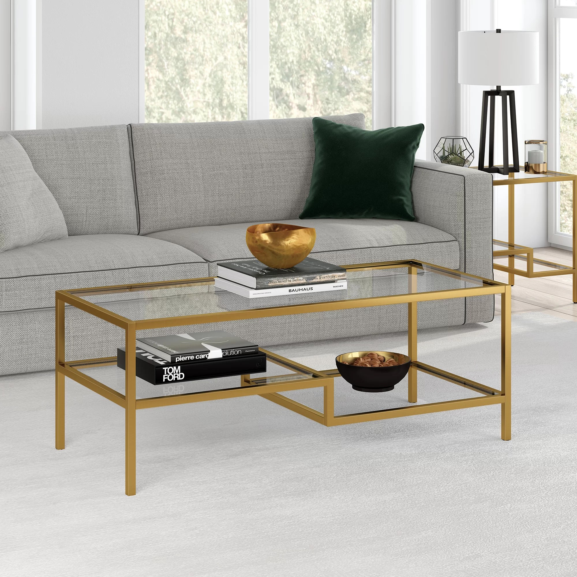 gold silver coffee tables you ll love