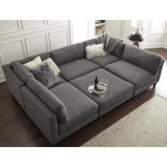 Sectional Sofa Couch Lazyboy Sleeper Sofas Cuddler Wayfair Chelsea Reversible With Ottoman