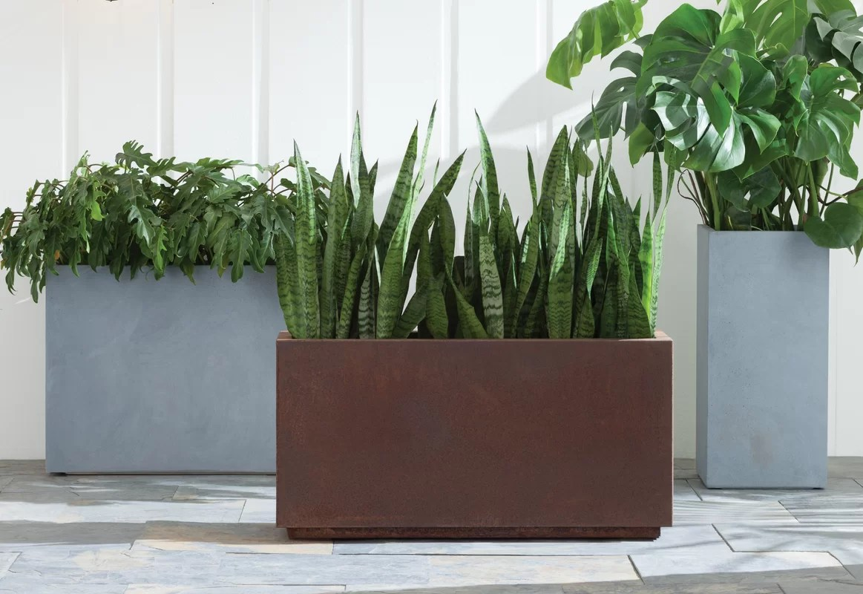 Veradek Metallic Series Corten Steel Planter Box & Reviews