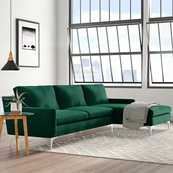 modern contemporary extra deep seat sectional