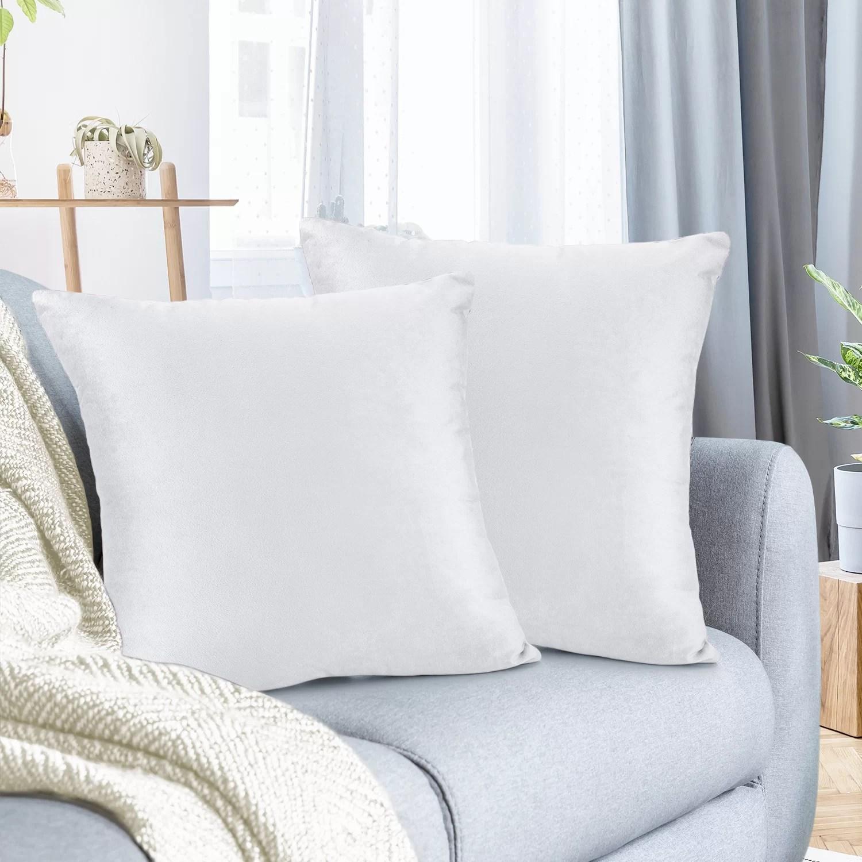 white throw pillows free shipping