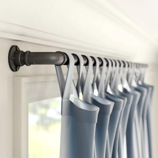 120 inch curtain rod