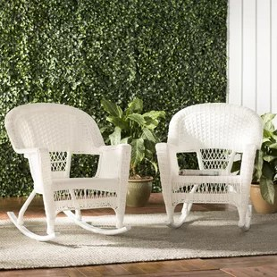 wicker rocking chairs baby shower chair rental in brooklyn you ll love wayfair quickview