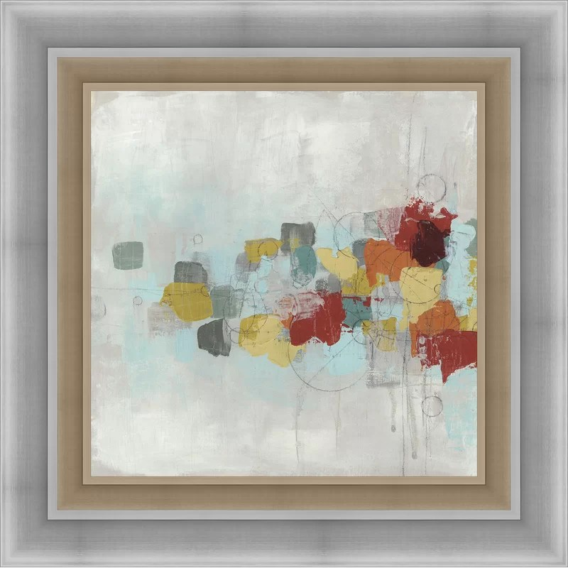 Trends Projection I Framed Painting Print