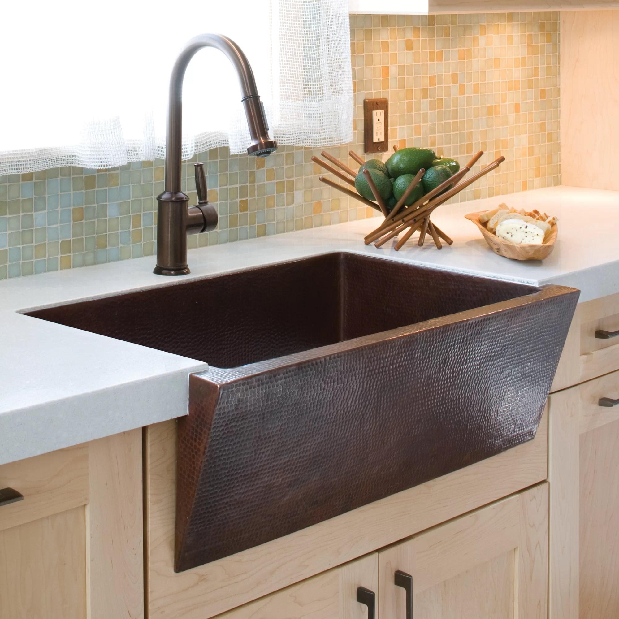 farmhouse 33 l x 22 w apron kitchen sink