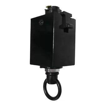 track system sloped ceiling adapter