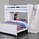 Harriet Bee Raub Twin Over Full L Shaped Bunk Bed With Bookcase And Drawers Reviews