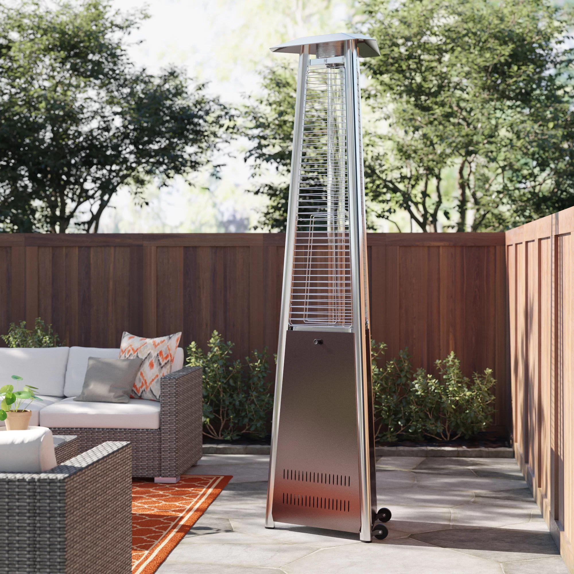 nalston 38000 btu natural gas patio heater