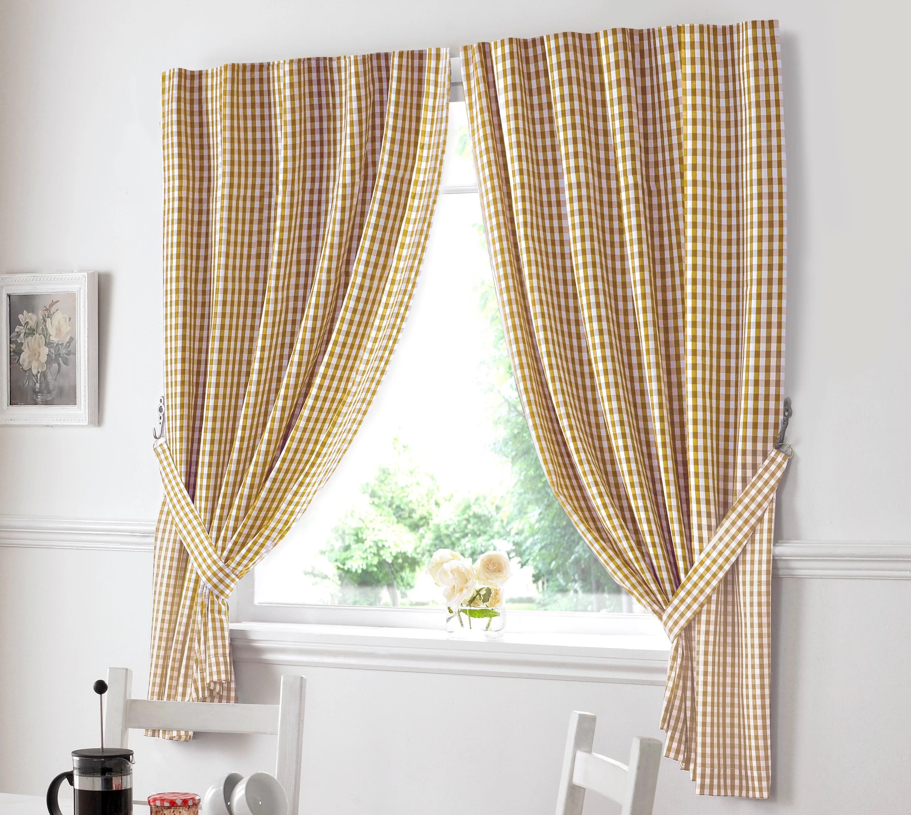 Brambly Cottage Rosario Kitchen Curtains Reviews