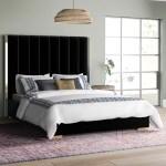 Mercer41 Aeliana Velvet Upholstered Platform Bed Reviews Wayfair