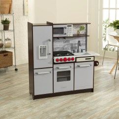 Wood Kitchen Set Paula Deen Cabinets Kidkraft Uptown Elite Play Reviews Wayfair Ca
