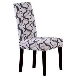 black parsons chair zero gravity recliner garden with legs wayfair swarthout set of 2