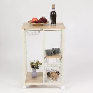 rolling island kitchen tall cabinet with doors 7 foot wayfair colston cart