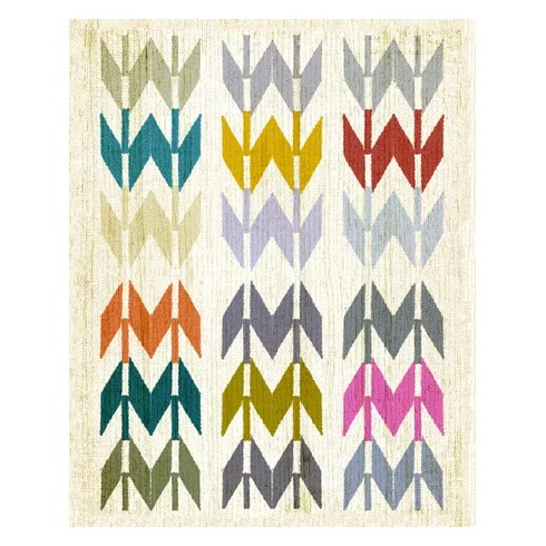 Wheatpaste Navajo Arrows By Fancy That Design House And Co Framed