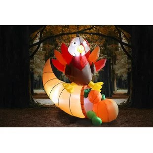 Thanksgiving+Turkey+on+Cornucopia+Inflatable