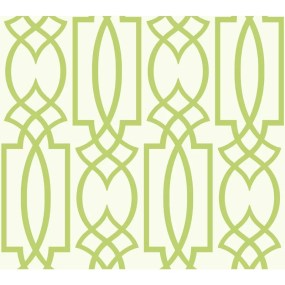 "Schroeders Lattice 27' x 27"" Geometric Wallpaper Roll"