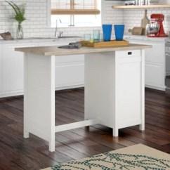 Freestanding Kitchen Island Cabinets Riverside Ca Islands Birch Lane Hampton With Lintel Oak Top