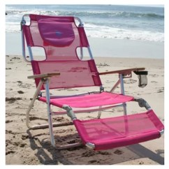 Pink Beach Chair Garden Dining Covers Oversized Chairs Wayfair 3 In 1 Reclining