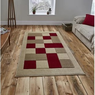 red rugs for living room ideas with couches ivory cream you ll love wayfair co uk matrix beige rug
