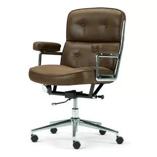 swivel chair no castors ll bean chairs without wheels wayfair barton office