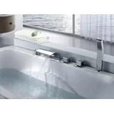 jacuzzi tub waterfall faucet wayfair
