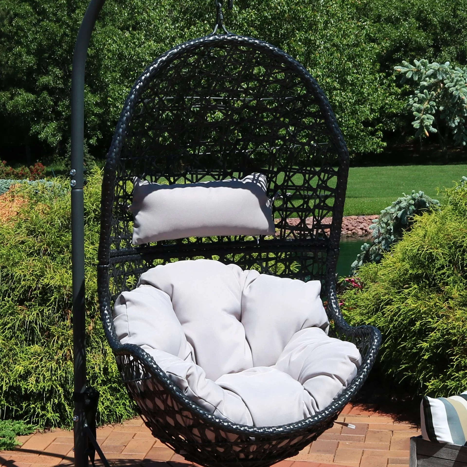 Hanging Patio Chair Hand Hanging Egg Chair Hammock