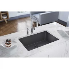 Large Kitchen Sinks Small Kitchens Ideas Sink Floor Mats Wayfair Ca Quartz Luxe 33 L X 18 W Undermount