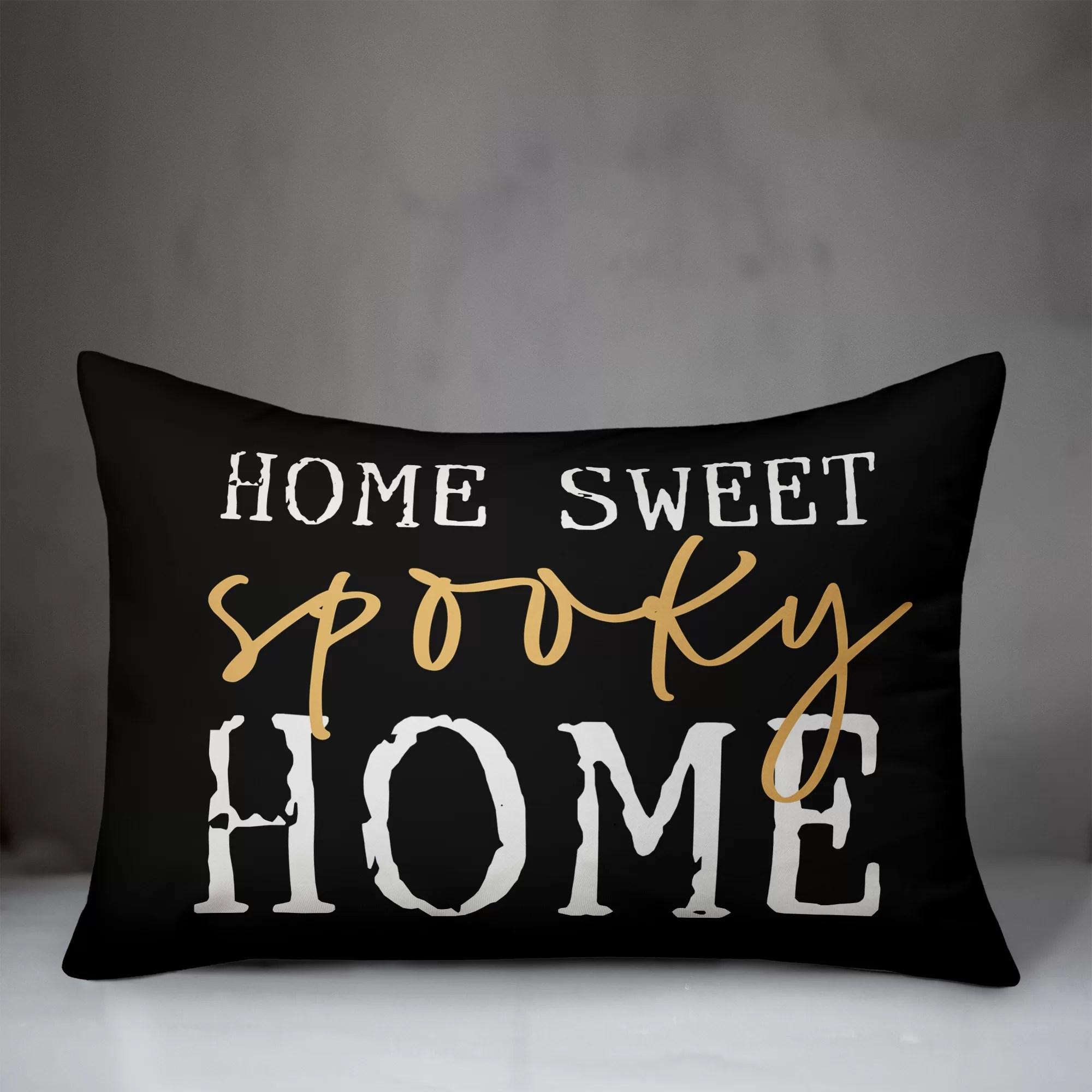 home sweet home lumbar pillow online