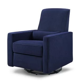 blue glider chair walmart white plastic chairs gliders ottomans you ll love wayfair quickview
