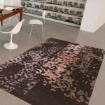 Eucalo Handgefertigter Teppich Berlian In Dunkelgrau Altrosa Wayfair De