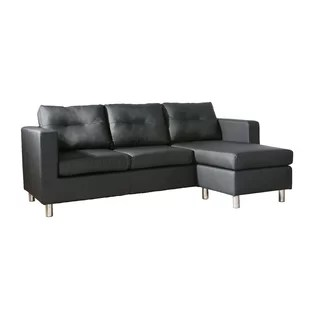grey leather corner sofa uk fluffy set real wayfair co quickview 0 apr financing black charcoal