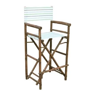 bamboo directors chairs acapulco patio chair director beach lawn you ll love wayfair folding