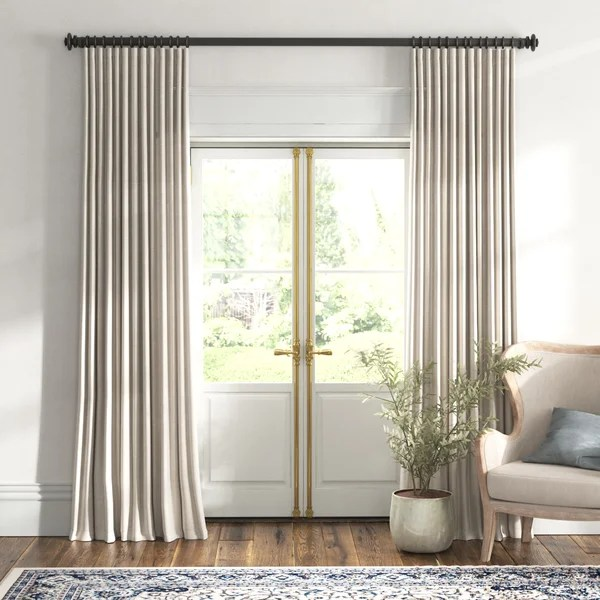 extra long extra wide curtains