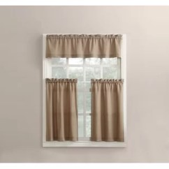 Kitchen Swags How To Build A Cabinet Curtains Valances You Ll Love Wayfair Martine Curtain