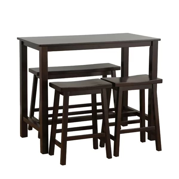 bistro tables and chairs chair cover alternatives wedding pub sets you ll love wayfair