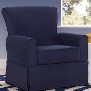 blue glider chair outdoor bistro table and chairs set navy rocker wayfair quickview