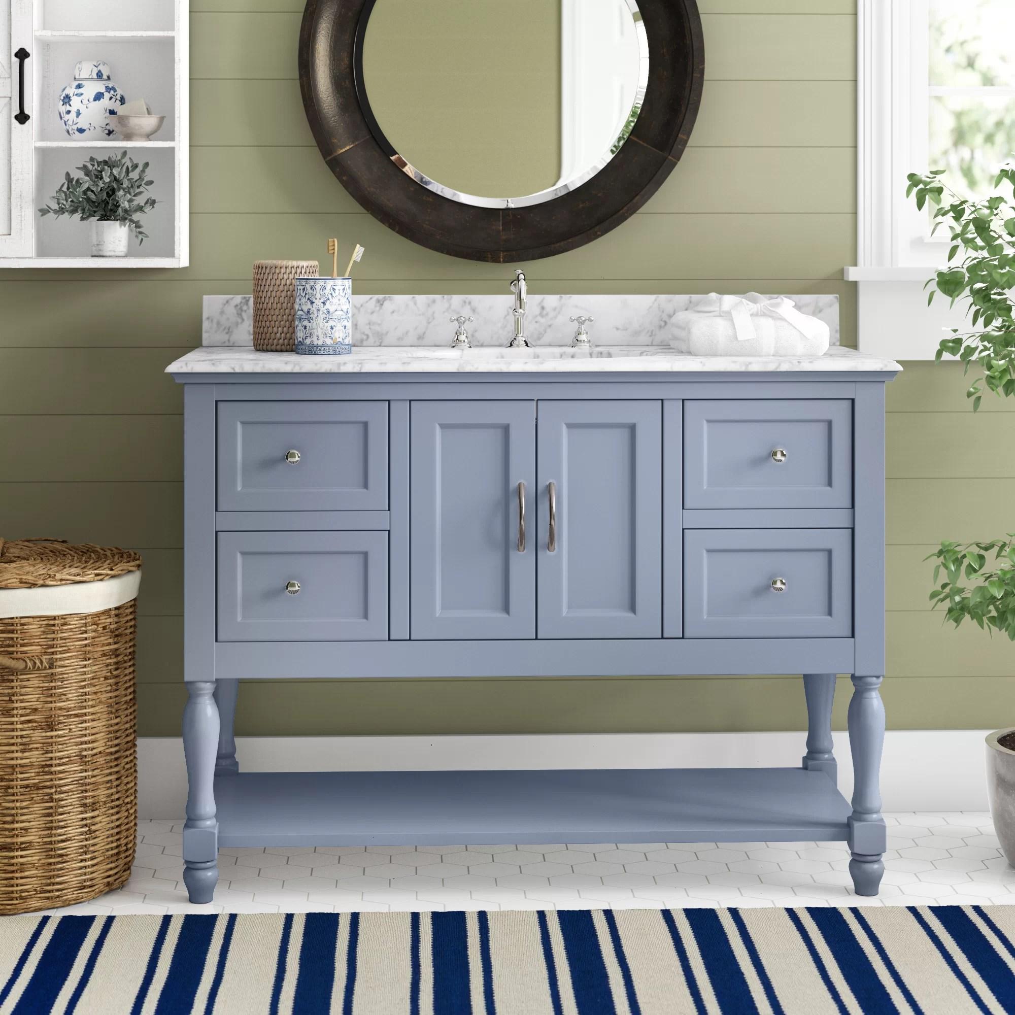 valeria 48 single bathroom vanity set