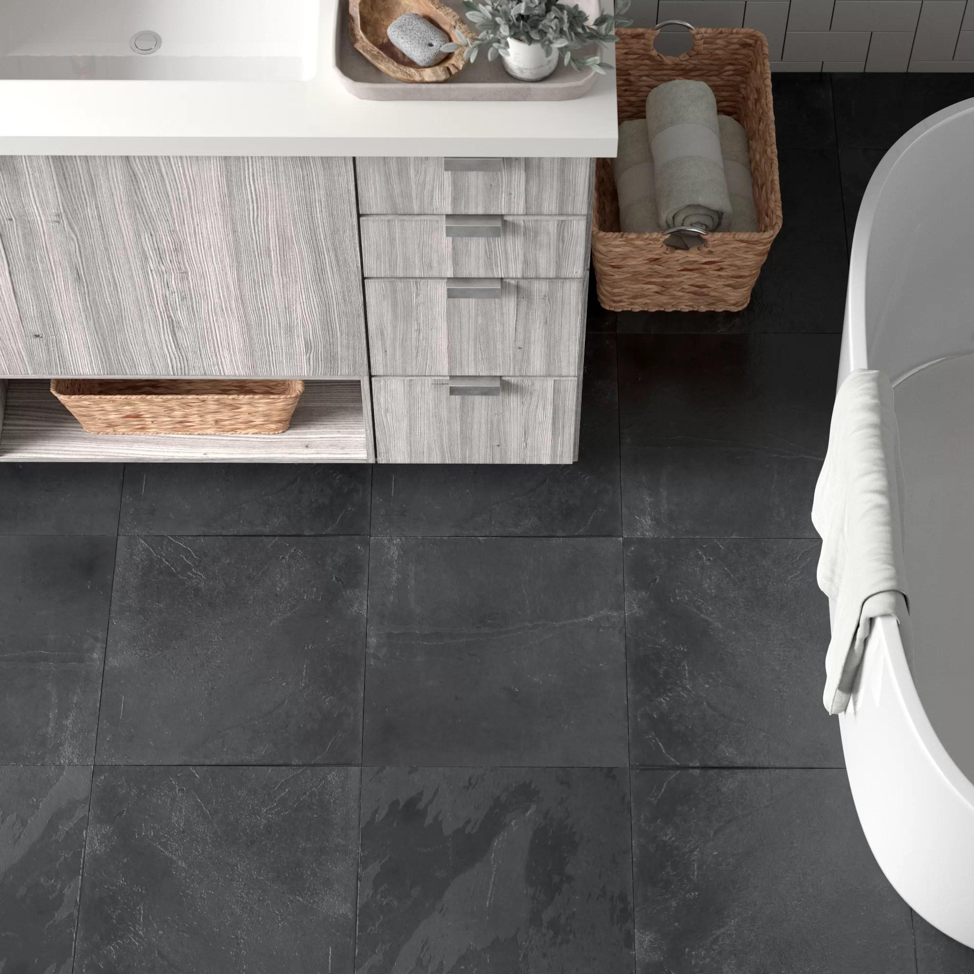 gray slate floor tiles wall tiles
