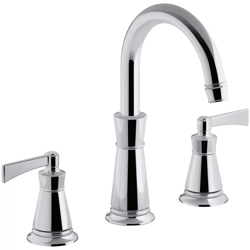 archer deck mount tub faucet