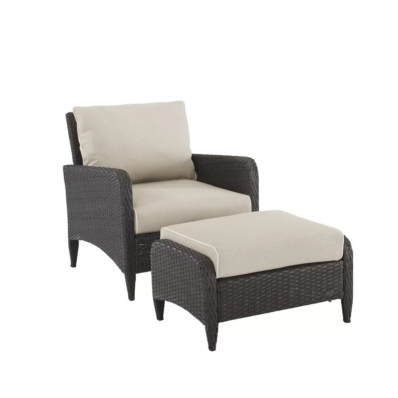 mosca patio chair with cushions