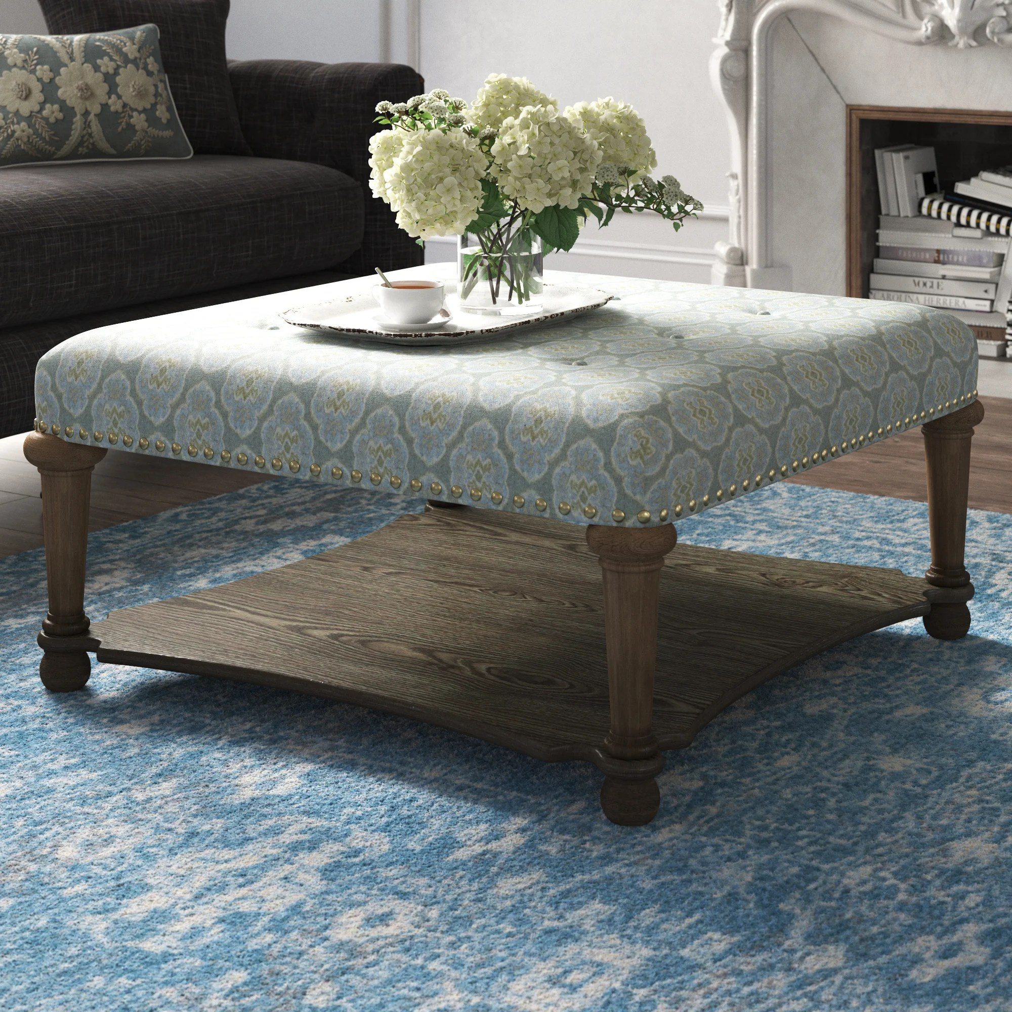 fabric coffee tables you ll love in