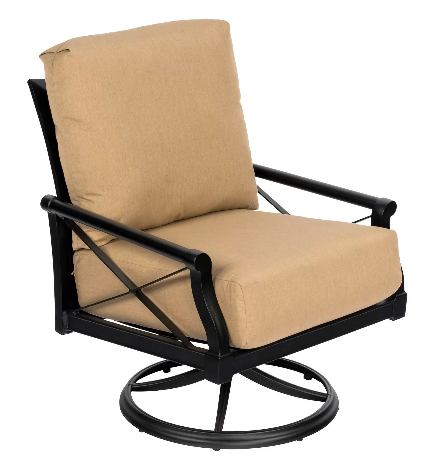 Swivel Rocking Chairs Andover Swivel Rocking Chair With Cushions