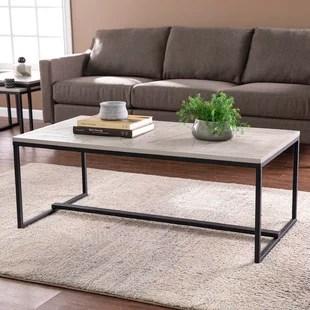 caroyn sled coffee table
