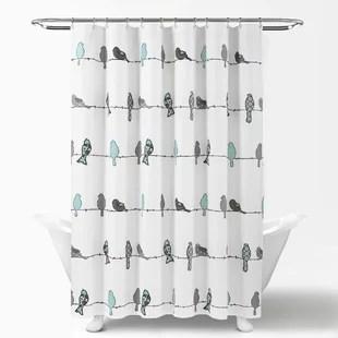 recio single shower curtain