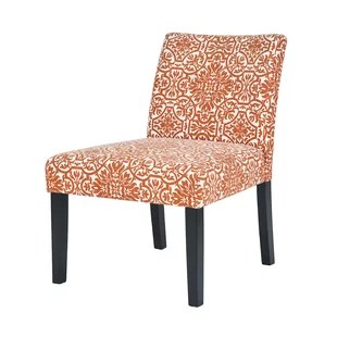 orange side chair queen anne style chairs accent you ll love wayfair quickview