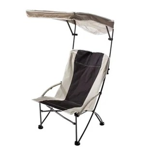 beach chairs with shade due north oversized directors chair freeport park angelette quik max folding wayfair