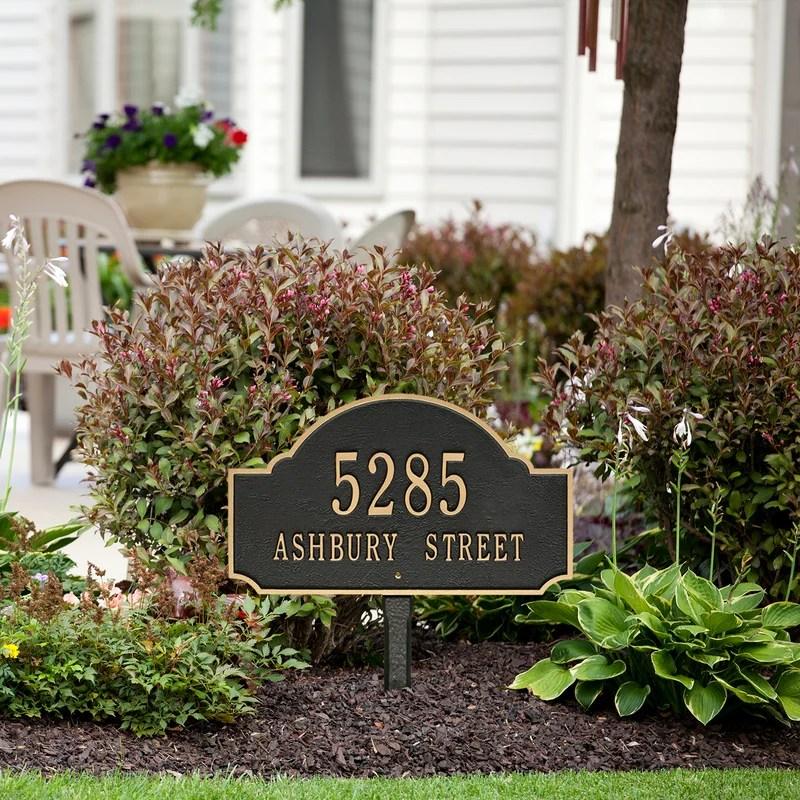 Address Signs Svg