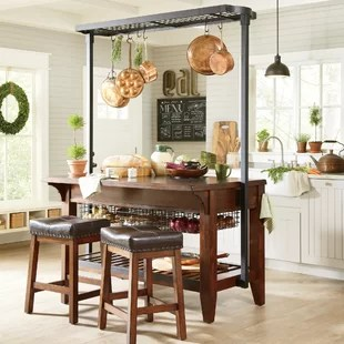island tables for kitchen home depot cabinets in stock islands birch lane earline