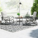 Bistro Modern Contemporary Patio Dining Sets You Ll Love In 2020